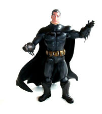 "DC Comics ARKHAM CITY BATMAN  UNMASKED Bruce  6"" Poseable video game figure"