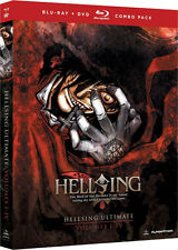 Hellsing Ultimate . Volume 1-4 Collection OVA 1 2 3 4 Anime . 3 DVD + 2 Blu-ray