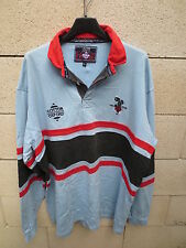 VINTAGE Maillot rugby BLACKHEATH 1858 COTTON OXFORD shirt odschool away XL