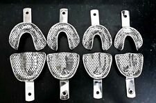 Dental Impression Trays Perforated - Dentulous or Edentulous - 8 piece best deal