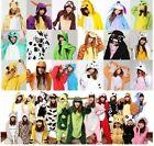 60 kinds Unisex Adult Pajamas Kigurumi Cosplay Costume Animal Onesie Sleepwear