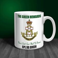 The Green Howards Personalised Ceramic Mug Gift