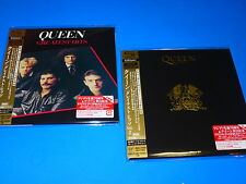 2016 FREE REGISTERED SHIP JAPAN QUEEN GREATEST HITS VOL1&2 MINI LP SHM 2 CD SET