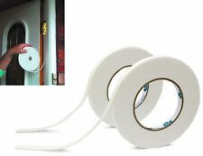 2 x Draught Excluder Tape Seal Doors Windows Foam Weather Strip Insulation Draft