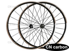 22mm Clincher Kinlin XR200 alloy bike wheels Novatec Hub+ CN aero spoke