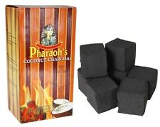 2 Kilo Pharaoh's Coconut Natural Hookah Coals Charcoal 192 Cube Pieces