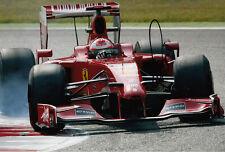 Giancarlo Fisichella Hand Signed Scuderia Ferrari Photo 12x8 1.