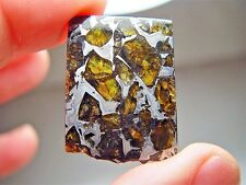 MUSEUM QUALITY! LARGE GORGEOUS CRYSTALS! STABLE! AMAZING ADMIRE METEORITE 19 GMS