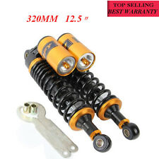 "1Pair Motor 12.5"" 320mm Rear Air Shock Absorbers For BMW Honda Kawasaki Yamaha"