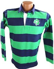 Womens BARBARIAN RUGBY WEAR  Notre Dame Green Blue Jersey Shirt Sz L