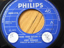 "JERRY DONAHUE - THEME FROM CATLOW  7"" VINYL"