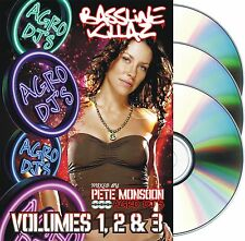 Pete Monsoon aka Agro Djs - Vol. 1,2 & 3 (3CD) Bassline Organ Speed Garage NICHE