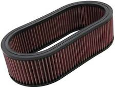 K&N  ELEMENT FOR CUSTOM 66 SERIES FILTERS.LARGE OVAL.4 TALL - KNE-3514