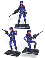 2017 GIJOE Club Exclusive - Female Infantry Trooper 3 Pack - In Hand & Free Ship