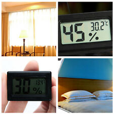 Mini Battery Operated Digital Thermometer Hygrometer Humidity Temperature Tester
