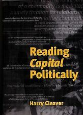 Reading Capital Politically, Cleaver, Harry, New Book