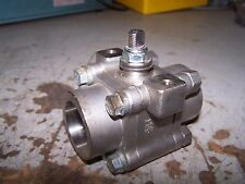 """NEW FLOWSERVE WORCESTER 1-1/4"""" SOCKET WELD STAINLESS STEEL BALL VALVE 4500 CWP"""