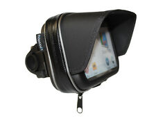 "5"" RiderMount SUNSHADE SUN VISOR GPS SAT NAV CASE BAG MOTORCYCLE MOTORBIKE MOUNT"