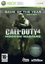 Call of Duty 4: Modern Warfare -- GAME OF THE YEAR EDITION (XBOX... MICROSOFT