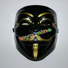 MASCHERA HALLOWEEN COSTUME TRAVESTIMENTO CARNEVALE ANONYMOUS