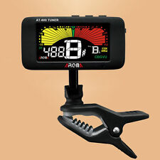 Clip ON Guitar Tuner For Guitar Bass Violin Viola Sax Flute Clarinet Tuner
