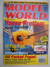 RC Model World - Radio Controlled Aircraft - May 2000 Complete with Unused Plan