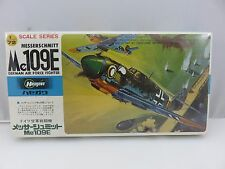 Hasegawa MESSERSCHMITT Me109E Fighter 1/72 Scale Plastic Model Kit NEW SEALED