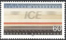 Germany 1991 ICE/Express/Trains/Rail/Transport/Railway/Carriage 1v  (n25082)