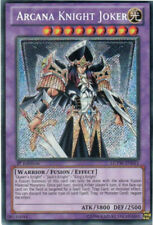 1x (M/NM) Arcana Knight Joker - LCYW-EN051 - Secret Rare - Unlimited Edition  Yu