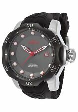 @New Invicta 52mm Venom Sea Dragon Automatic Silicone Strap Watch 19311