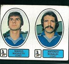 Figurina Calciatori Panini 1977-78! N.423! Nicoletti/Bonaldi Como! Ottima!!