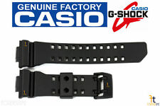 CASIO G-SHOCK GA-400-1A Original Black Rubber Watch BAND Strap GA-400-1B
