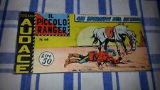 STRISCIA PICCOLO RANGER -1° SERIE # 14-ORIGINALE-15 / 1 /1959-collana audace-FS2
