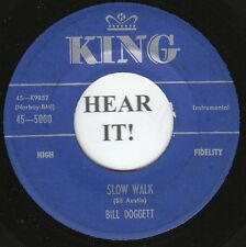 Bill Doggett R&B INSTRO 45 (King 5000) Slow Walk/Hand in Hand  VG+