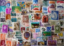 WORLD WIDE Foreign Countries 100 All Different Postage Stamps-Large & Semi Large