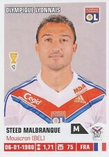 N°186 STEED MALBRANQUE # LYON OL STICKER FOOT 2014 PANINI