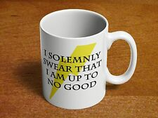 Harry Potter I SOLEMNLY SWEAR THAT I AM UP TO NO GOOD 11oz Ceramic Coffee Mug