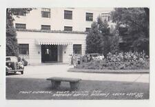RPPC,Green Lake,WI.Roger Williams Inn,Front Entr.No.Baptist Assembly Estate,1949