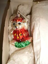 Christopher Radko Jack N Ted Halloween Christmas Ornament