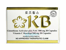 KB KYUSOKU BIHAKU GLUTATHIONE SKIN WHITENING CAPSUES BLEACHING PILLS ITEM IN USA