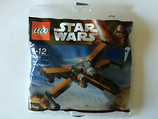 LEGO STAR WARS POLYBAG 30278 POE'S X-WING FIGHTER NEUF SCELLER SEALED