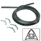 AEG BAUMATIC Oven Cooker Rubber Door Seal 4 Sided Gasket Rounded Corner Clips