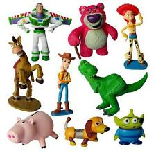 9Pcs Toy Story Buzz  Woody Jessie Figures Dinosaur Kids Doll Gift