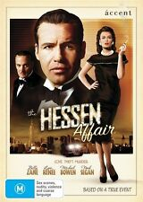 The Hessen Affair (DVD, 2010)= BILLY ZANE = PAL; 4 = SEALED