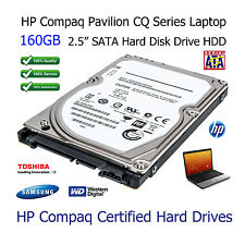 "160GB HP Compaq Pavilion CQ43 2.5"" SATA Laptop Hard Disk Drive (HDD) Upgrade"