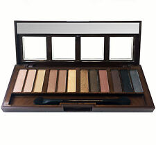 CITY COLOR Barely Exposed Eye Shadow Palette, 12 Day/Night/Nude Colors