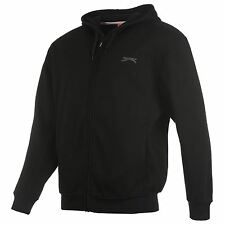 Sweat-shirt à Capuche SLAZENGER Full Zip Small NEUF / Hoody Black Size S NEW
