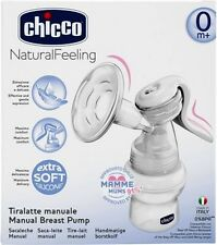 Chicco Manual Breast Pump ( with extra soft silicon cup and ergonomic handle