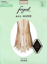 Strumpfhosen Fogal of Switzerland, All Nude, 10 DEN ultrafein, cream, L = 44-46