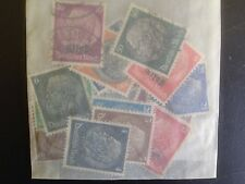 15 Different German Alsace Stamp Collection